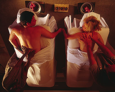 Erotic massage within the couple